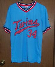 KIRBY PUCKETT Minnesota Twins  Jersey Shirt Size L