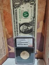 2019 P SACAGAWEA $1 MARY ROSS COIN & CURRENCY SET NGC SP70 ENHANCED - Black Core
