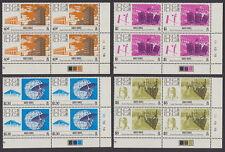 HONG KONG - 1983 Observatory (4v) Plate Blocks of 4 - UM / MNH
