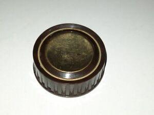 Pos 1) 1 Ersatzteil für Drehknopf aus Grundig 3010 - Röhrenradio Ersatzteil