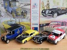 CORGI csma 75e anniversaire set Capri JAGUAR mini limited exemple bxd t3412z (=)