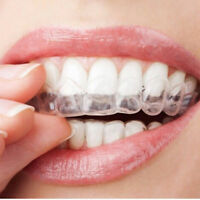 4×Thermoform Moldable Mouth Teeth Dental Tray Tooth Whitening Guard Whitener