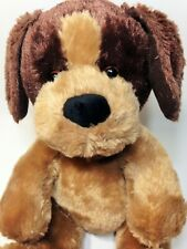 "Build A Bear Puppy Dog Plush Brown Tan Stuffed Animal 14"""
