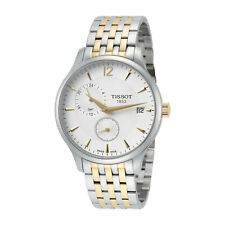 Tissot Men's T0636392203700 Tissot Tradition 42mm Silver Dial SS Watch