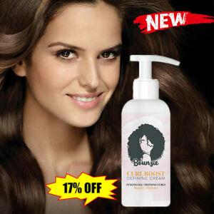 Bounzie Curl Boost Defining Cream Hair Care Elastin Coconut  Oil