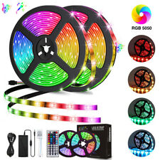 LED Light Strip RGB SMD 5050 32.8ft/10m 300Led IP65 Waterproof with 44Key Remote