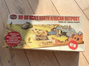 AIRFIX GERMAN DESERT  NORTH AFRICAN OUTPOST RARE 1/72