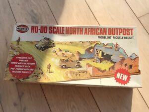 AIRFIX GERMAN DESERT NORTH AFRICAN OUTPOST RARE 1/72