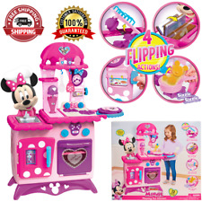 Minnie Mouse Minnie Flipping Fun Kitchen, Ages 3+ - Brand New in Box