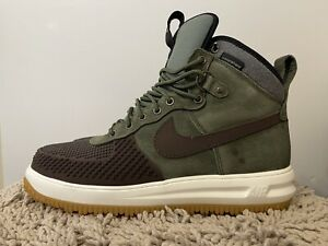 Nike Lunar Force 1 Duckboot '17, Army Olive Green, 805899-200, Mens Size 12