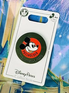 2021 New Disney Parks Passholder Pin  Mickey Mouse It's A Way Of Life OE