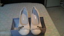 Scarpe donna ballerine colore bianco n°38 usate