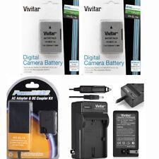2x EN-EL14a Battery +110-220 vCharger + CAR PLUG + EP-5A for Nikon D3400 D5600
