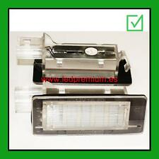ledpremium.es 2x LED NUMBER PLATE LIGHTS RENAULT GRAND / MODUS CANBUS