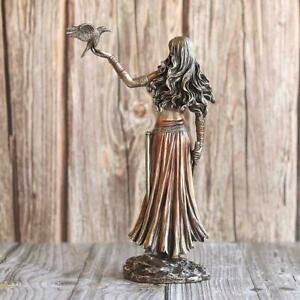 Knocker Sculpture resin Figurine Ornament Garden bedroom Decor Art Home A6C0