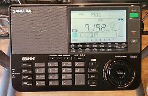 Sangean ATS-909X AM/FM/LW/SW radio communications receiver, black
