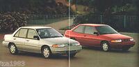 1994 Ford ESCORT Sales Brochure /Pamphlet / Flyer: LX, GT, Station Wagon