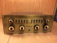 Vintage McIntosh C-8 Tube Preamplifier Audio Compensator Beautiful Condition