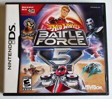 Hot Wheels: Battle Force 5 (Nintendo DS, 2009)