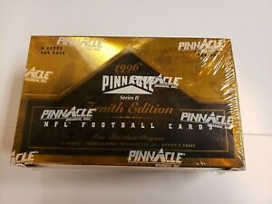 1996 Zenith series 2 NFL Football Sealed Hobby box 24 packs Artist's Proof Box 1