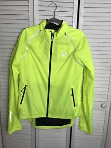 PEARL IZUMI MEN'S XXL ELITE BARRIER CONVERTIBLE JACKET YELLOW New With Tags
