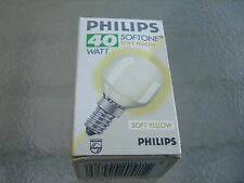 10 X PHILIPS BOMBILLA SOFTONE E14 40W  AMARILLO YELLOW