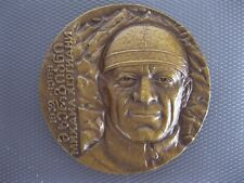 Georgian medal Mikhail Khergiani mountaineer bronze LMD Georgia 1989 USSR