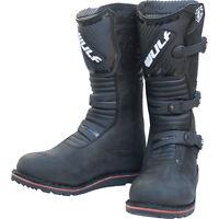 Wulfsport Adults Offroad Motor Bike Trials Riding Boots - Black