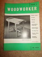 Woodworker September 1961 ~ Retro Vintage Illustrated Magazine + Advertising