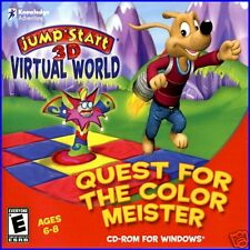 JUMP START 3D VIRTUAL WORLD: QUEST FOR THE COLOR MEISTER