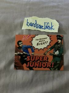Super Junior Star Card Puzzle Card SJ137