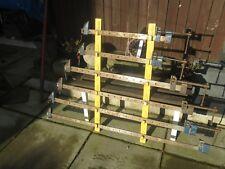 6 x RECORD Heavy Duty Telaio Morsetti + storage rack muro.