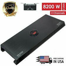 New Gravity 2 Channels 8200 WATTS  Class A/B Car Audio Stereo Amplifier GR8200