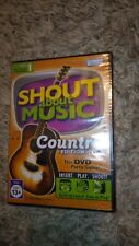 Shout About Music Country Edition Disc 1 DVD Party Game *****BRAND NEW*****
