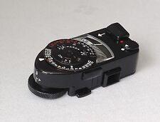 Medidor de Leica MR-4 rara Pintura Negra Totalmente Funcional & Como Nuevo!