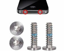 iPhone 4(S) 2x Torx Pentalobe Schraubenset Schraube Set Silber Weiss Screw *NEU*