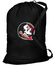 FSU Laundry Bags BEST Florida State University Clothes Bag w/ SHOULDER STRAP!