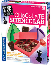 THAMES and KOSMOS 550019 Geek & Co. Chocolate Science Lab Kit
