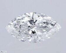 Marquise Cut Loose Natural Diamond 100% Real 0.53 Carat G VVS2 GIA VG VG Actual