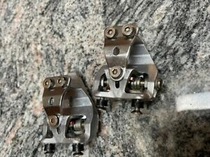 #  WELLGO VINTAGE OLD SCHOOL  CLIPS FOR PEDALS FOR RACING BIKE CLEATS