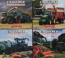Grassmen TV Complete Collection 2016 DVDs 4 Disk Tractors Farming Grass Machines