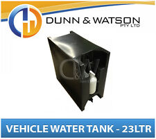 Vehicle Water Tank With Soap Dispenser (23L) Black PVC Ute Under Tray - LH & RH