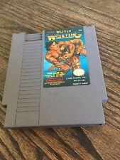 Tecmo World Wrestling Original Nintendo NES Cart Works NE1