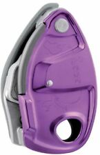 Petzl GRIGRI+ Single Rope Assisted Braking Belay Device Climbing (Purple)