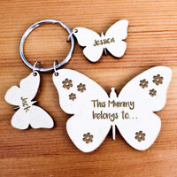 Personalised Gifts For Her Mum Grandma Nanny Auntie Girls Xmas Keyring Presents