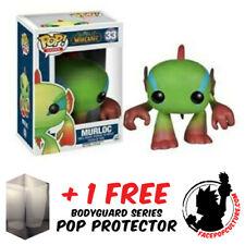 FUNKO POP WORLD OF WARCRAFT MURLOC GREEN #33 VINYL FIGURE + POP PROTECTOR