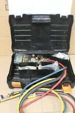 TESTO 557 DIGITAL MANIFOLD WITH BLUETOOTH AND HOSES AND CLAMP PROBES