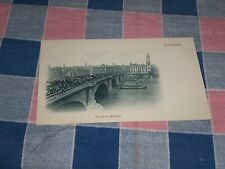 Old Postcard London  London Bridge  Undivided Back  Unused
