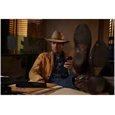 Justified Timothy Olyphant as Raylan Givens Holding Phone 8 x 10 Inch Photo