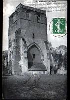WATTEN (59) TOUR de l'EGLISE ancienne ABBAYE du XVIII° Siécle , en 1914